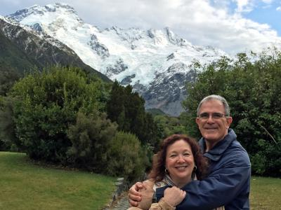 Guests enjoying their time at Mt Cook