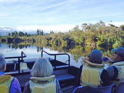Small Group New Zealand Tours Okarito Lagoon