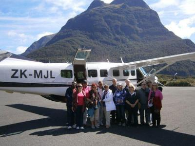 The scenic flight over Milford Sound is always a highlight!