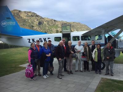 Small Group New Zealand Tours Plane