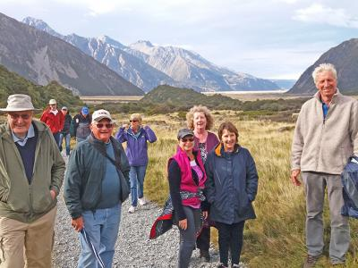 Small Group New Zealand Tours Walk