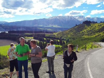 South Island views on the Road - MoaTrek Tour Gallery