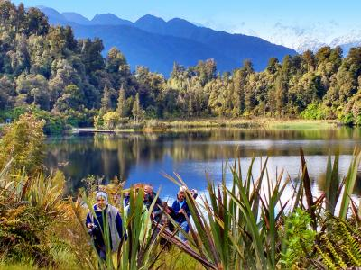 Lake Matheson on the West Coast - MoaTrek Tour Gallery