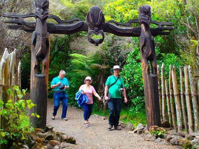 Maori Carvings Northland - MoaTrek Tour Gallery