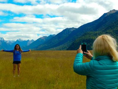 Big sky photo, Eglington Valley, Fiordland National Park