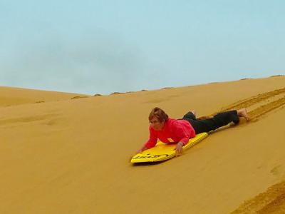 Sandboarding action photo Hokianga - MoaTrek Tour Gallery