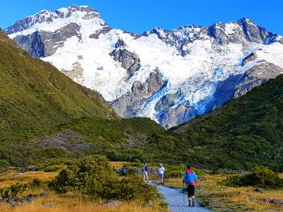 Kea Point Track, Mount Cook- MoaTrek Tour Gallery