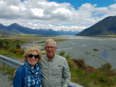 Happy couple at Arthurs Pass