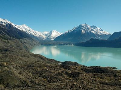 Breathtaking scenery at Mt Cook