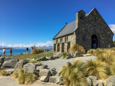 The church of good shepherd at Lake Tekapo
