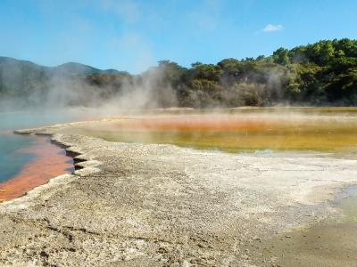 Explore Wai-O-Tapu thermal park