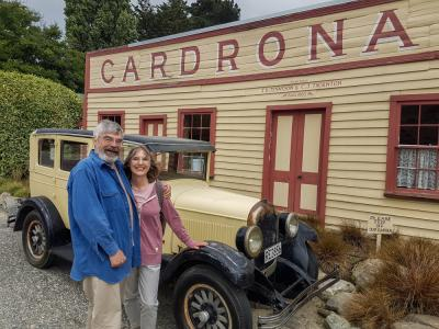 Enjoy a drink at the Cardrona Hotel