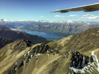 The Southern Alps by air