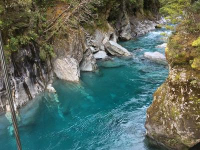 The Blue Pools, Mt Aspiring National Park