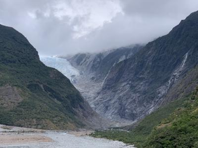 The Franz Josef Glacier Valley