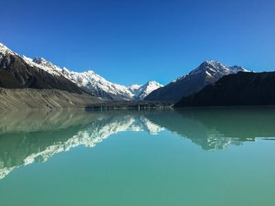 The Tasman Glacier Terminal Lake