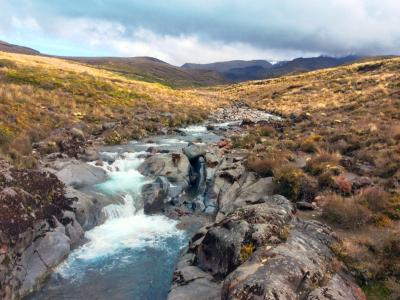 The Silica Rapids in Tongariro National Park