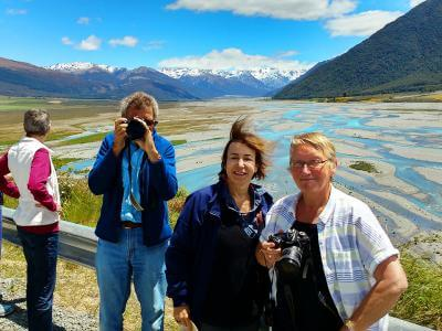 Photo of a photo at Arthurs Pass