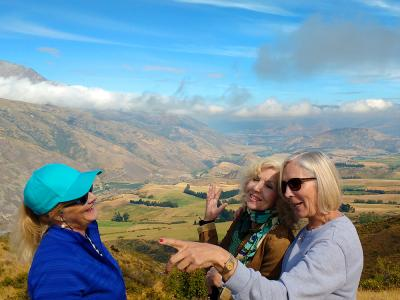 Views from the Crown Range, Queenstown - MoaTrek Small Group Tours