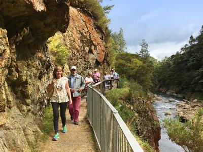 Walking in the Karangahake Gorge
