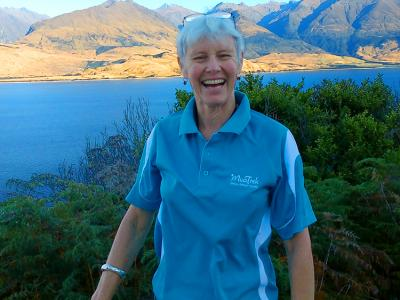 Kiwi Guide Marilyn - MoaTrek Small Group Tours