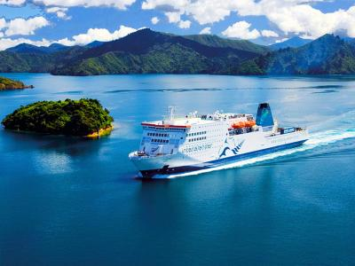 Cook Strait Ferry - New Zealand