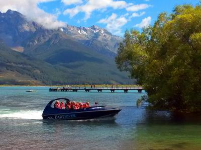 Group on the Dart River Jetboat - Queenstown
