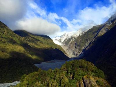 Rainforest and glacial valley - Franz Josef
