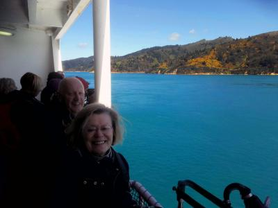 Views from the Cook Strait ferry - MoaTrek