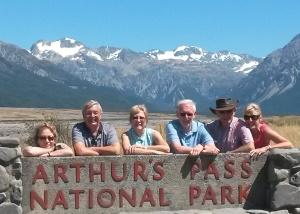 MoaTrek Travellers at Arthurs Pass National Park - Review