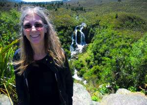 Ruth enjoying the view of waterfalls - Tour Review