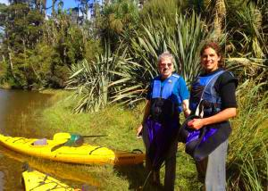 MoaTrek guests have the kayaking trip - Tour Review
