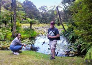 Heinz and Esther spending time in New Zealand nature - Tour Review