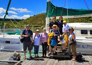 MoaTrek guests having a wonderful day on the boat- Tour Review