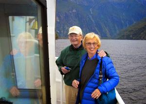 Gordon and Judy having delightful day on the cruise - Tour Review