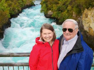 Huka Falls near Taupo - MoaTrek Tour Review