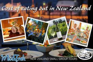 Eating out in New Zealand images