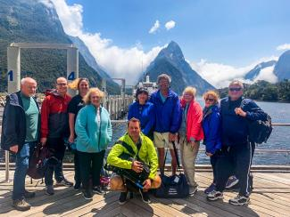 View of Milford sound - Moatrek Tour review