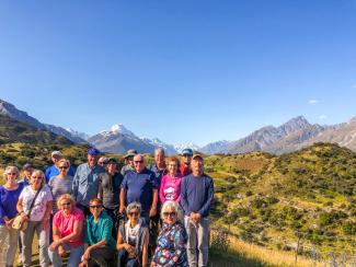 MoaTrek Group in Mount Cook