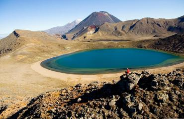 Visit Tongariro National Park - the Blue Pools