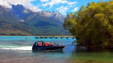 Jetboat by the willows, Dart River - Boat trips and day cruises NZ
