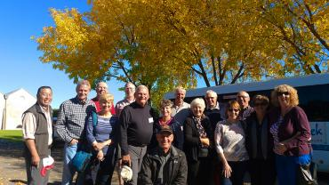 MoaTrek Tour group in Autumn - NZ Weather and Climate