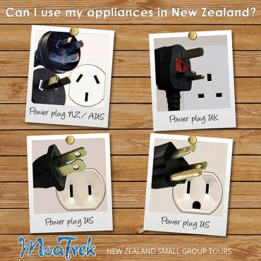 Power Plug Types for New Zealand, US, UK and Australia - Travel to New Zealand