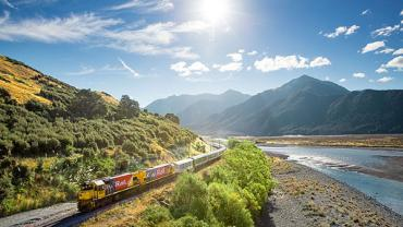The TranzAlpine Train - Travel Costs in New Zealand article