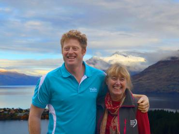 MoaTrek owners Miles & Ena on Queenstown Hill