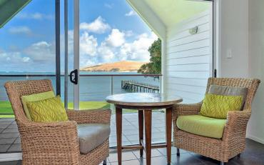 Ocean views from the Copthorne Hokianga