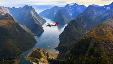 Milford Sound by Air - Unforgettable Experiences with MoaTrek