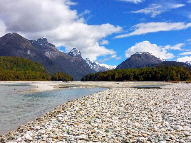 Dart River near Queenstown - MoaTrek FAQ