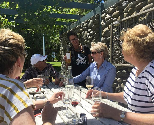Wine tasting in Marlborough